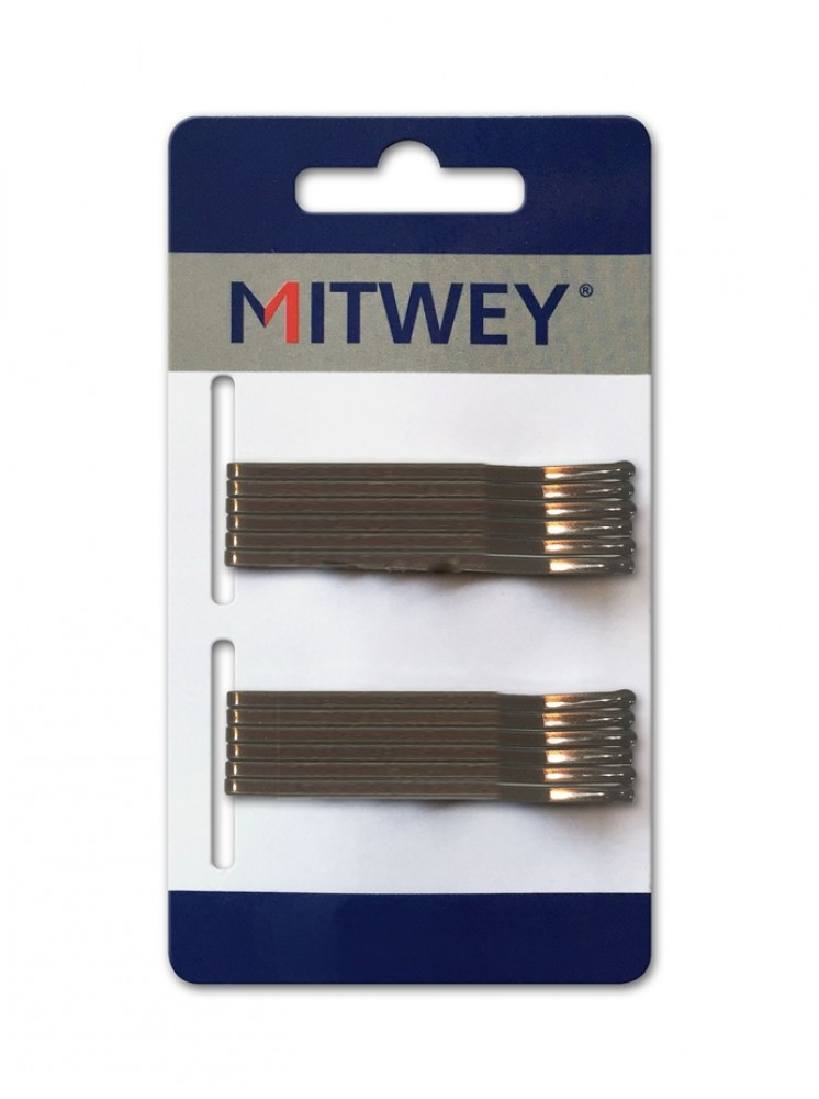 Clip Bronce Liso 12ud 50mm Mitwey