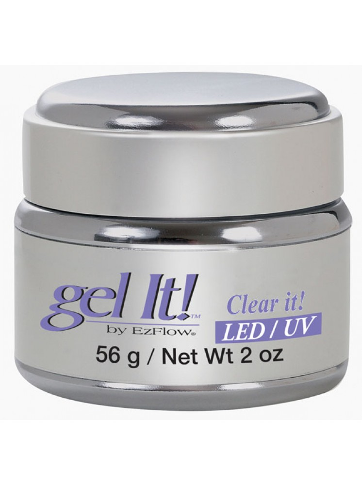 Gel Led/Uv Clear 56gr Ezflow