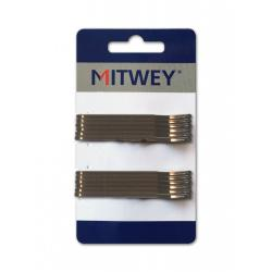 Clip Bronce Liso 12ud 70mm Mitwey
